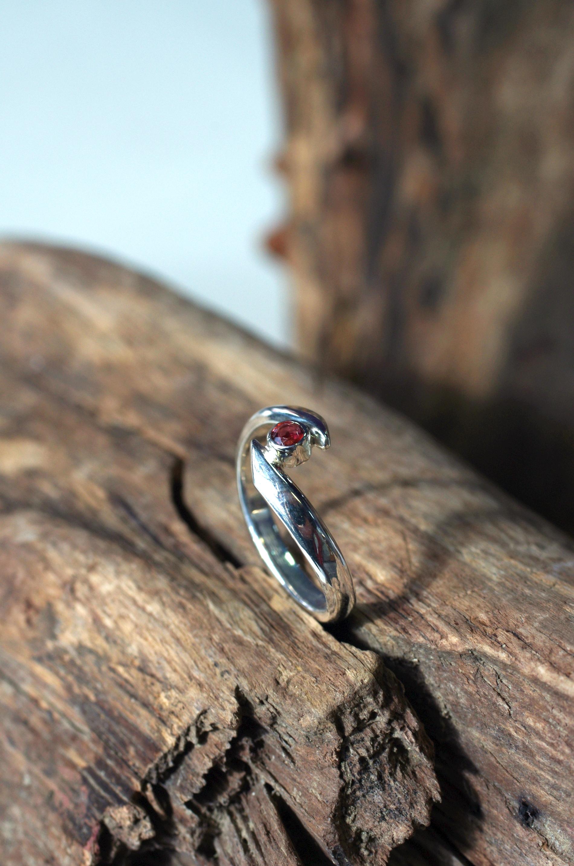 Ring Silber 925 mit lilafarbigem Turmalin