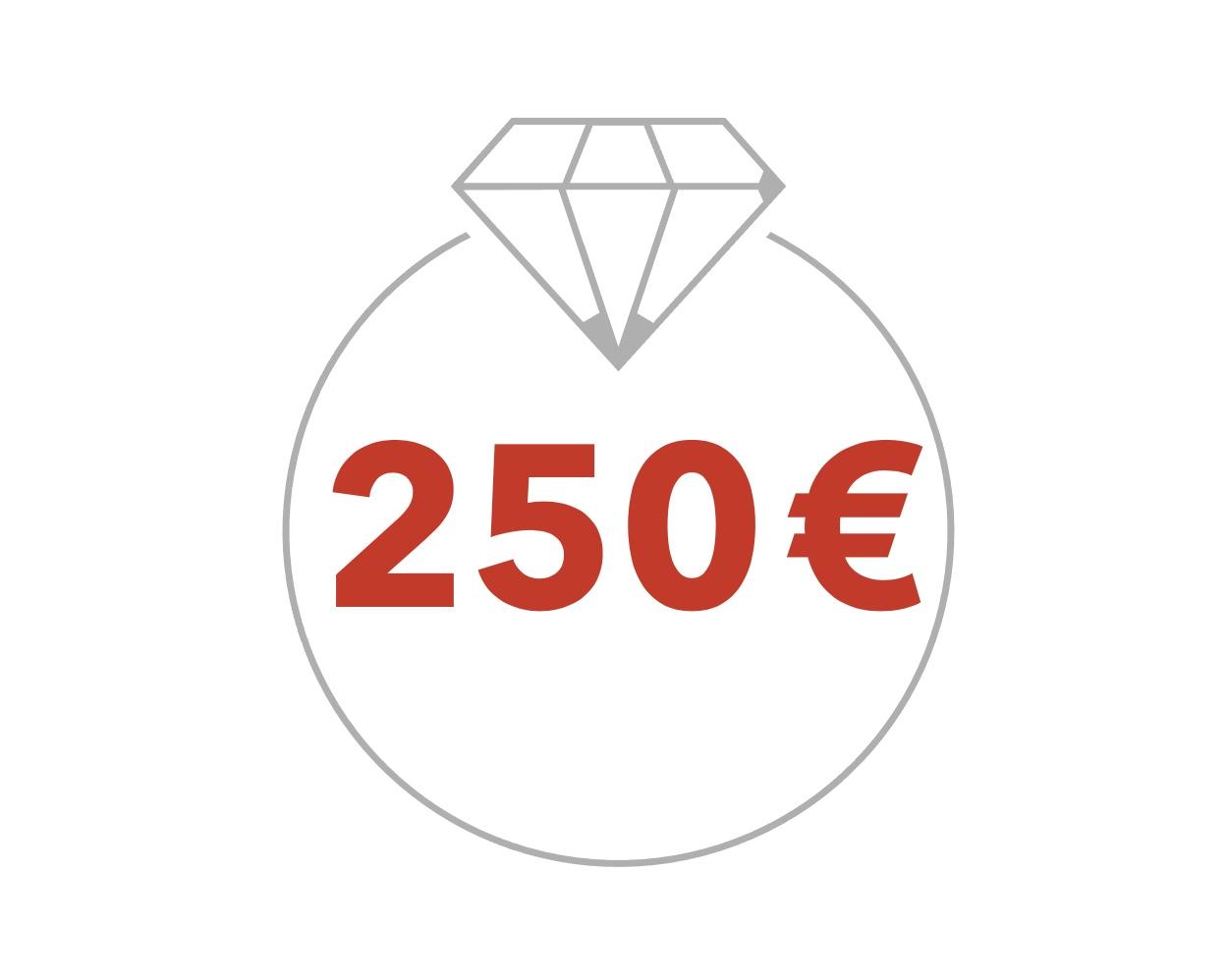 250€ Geschenkgutschein